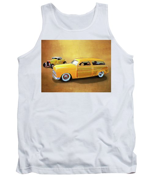 1949 Woody And 1932 Roadster Tank Top