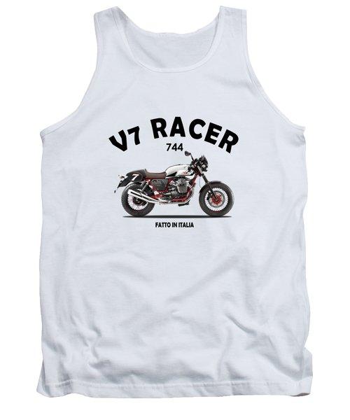 Moto Guzzi V7 Racer Tank Top