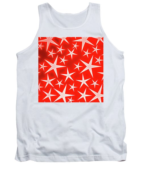 Star Burst 3 Tank Top
