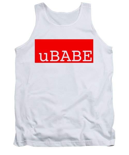 uBABE Label Tank Top