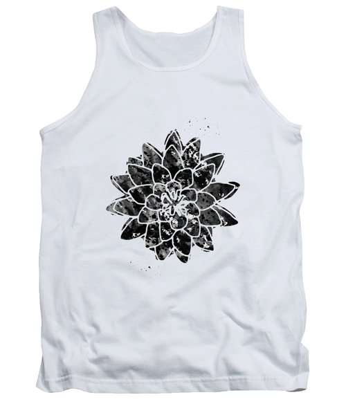 Water Lily Lotus Tank Top
