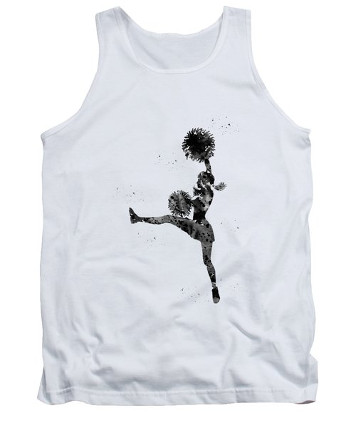 Cheerleader With Pompoms Tank Top