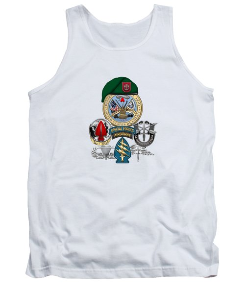 7th Special Forces Group - Green Berets Special Edition Tank Top