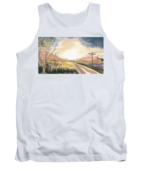 A Country Road And A Tree Tank Top