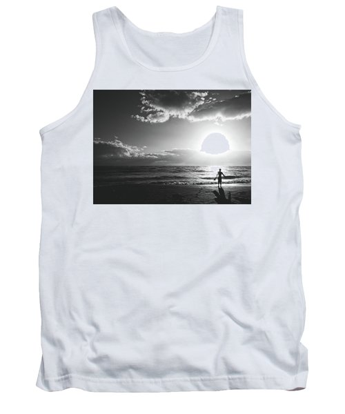 A Day Of Surfing Begins Tank Top