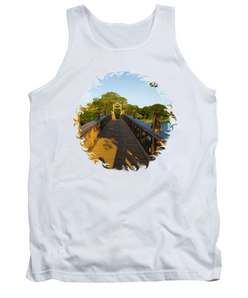 A Golden Afternoon In Spring Lake New Jersey Tank Top