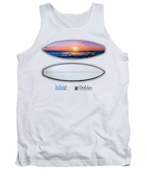 A Purple Orange Majestic Sunset-- For Shirts Tank Top
