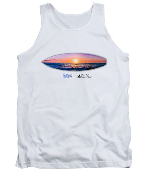 A Purple Orange Majestic Sunset For T-shirts Tank Top