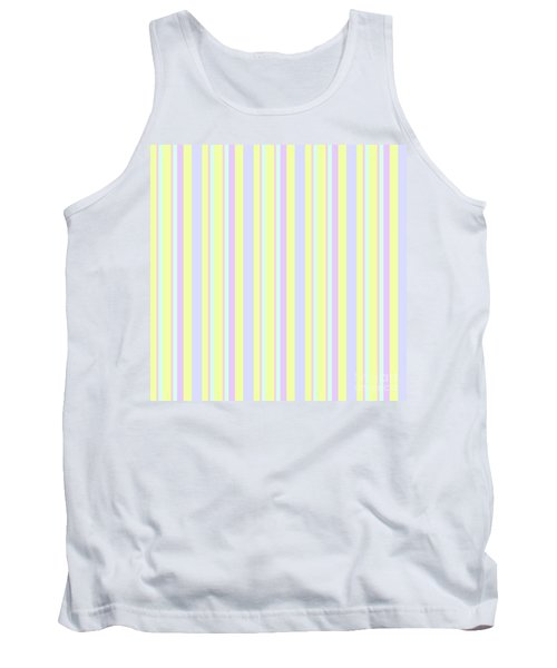 Abstract Fresh Color Lines Background - Dde595 Tank Top