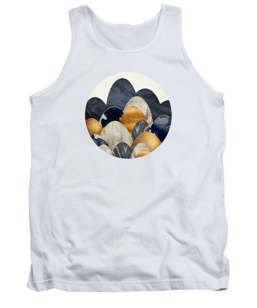 Abstract Hills Tank Top