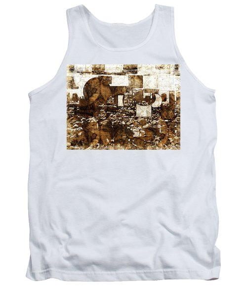 Abstract Map Tank Top