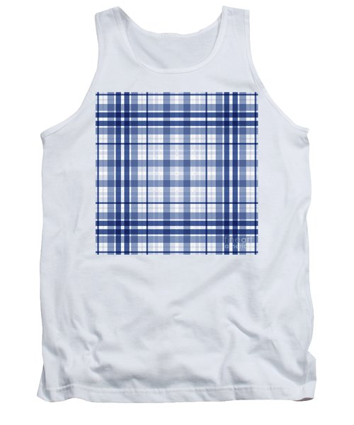 Abstract Squares And Lines Background - Dde611 Tank Top
