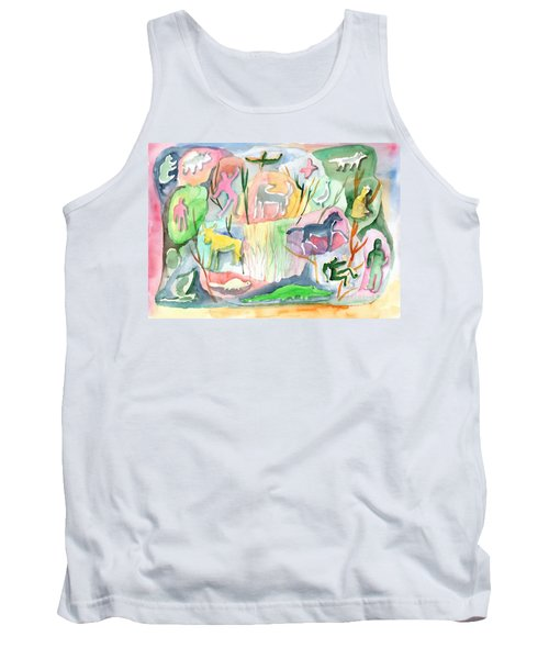 Abstraction Living World Tank Top