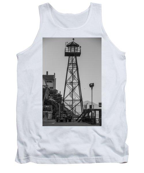 Alcatraz Light House Tank Top