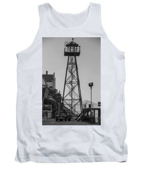 Alcatraz Light House Tank Top
