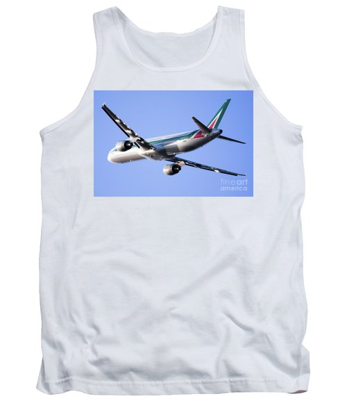 Alitalia Commercial Flight E2 Tank Top