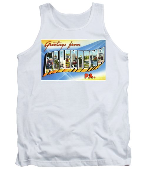 Allentown Greetings Tank Top