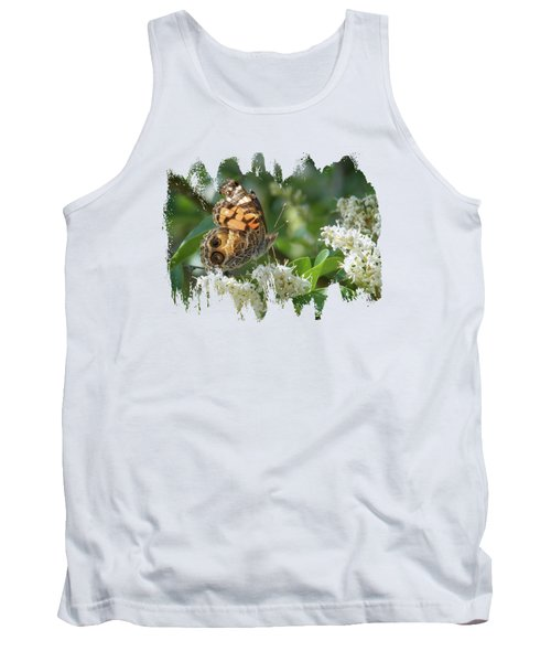 American Painted Lady Tank Top