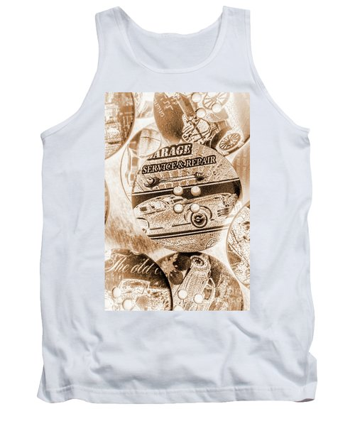 Antique Service Industry Tank Top