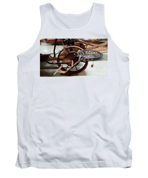 Antique Tractor Seat Tank Top