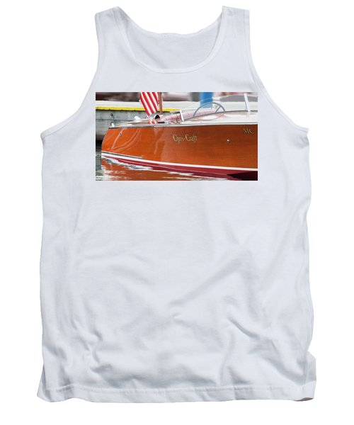 Antique Wooden Boat 1305 Tank Top