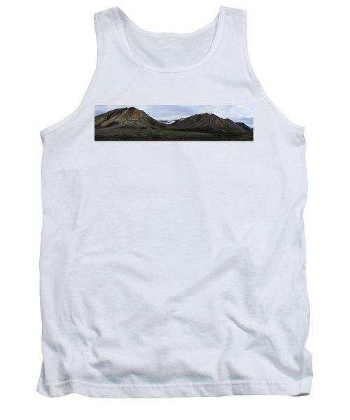 Arctic Mountain Landscape Tank Top