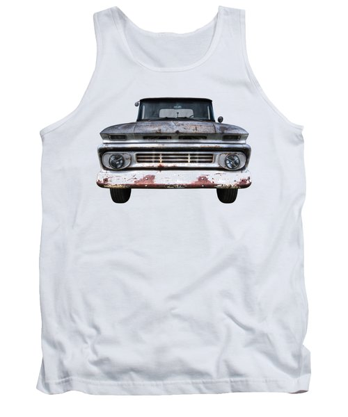 Rust And Proud - 62 Chevy Fleetside Tank Top
