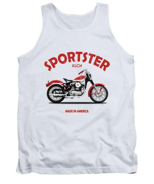 The Vintage Sportster Motorcycle Tank Top