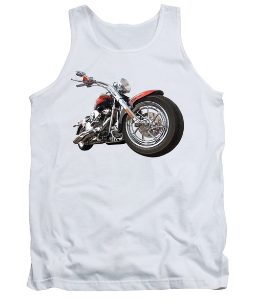 Wet And Wild - Harley Screamin' Eagle Reflection Tank Top