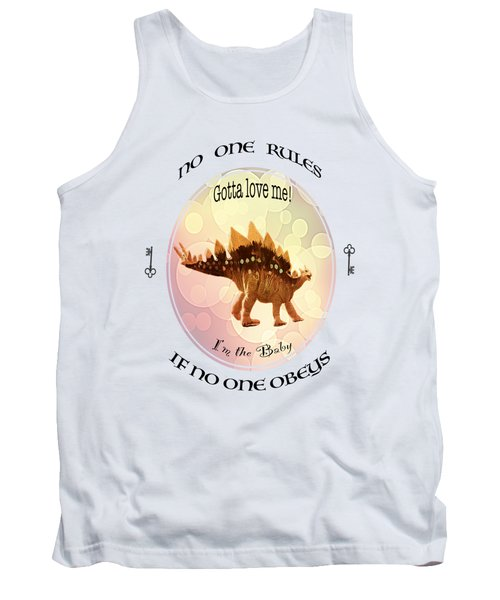 No One Rules If No One Obeys By Olena Art Tank Top