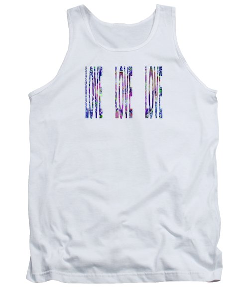 Love Letters 3 Tank Top