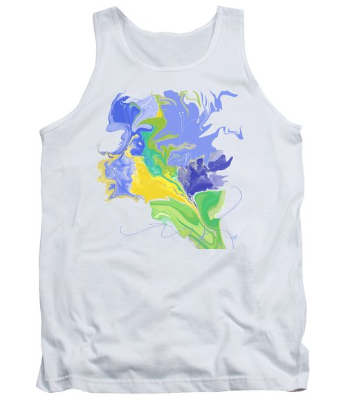 French Bouquet Tank Top