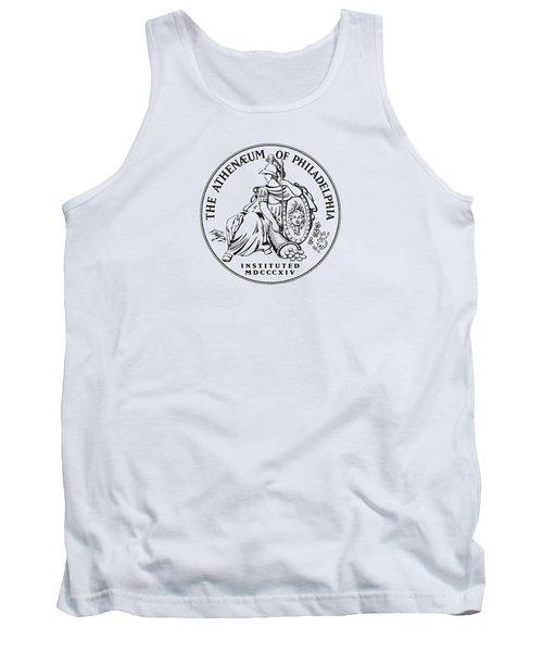 Athenaeum Of Philadelphia Logo Tank Top