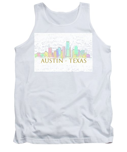 Austin Skyline Tank Top