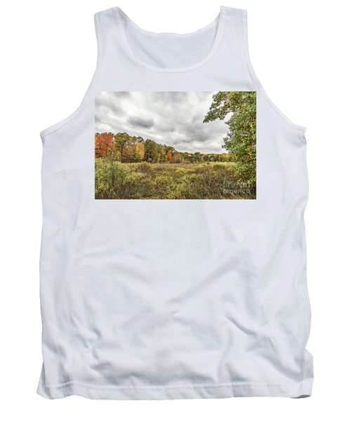 Autumn Has Been Found In Michigan Tank Top