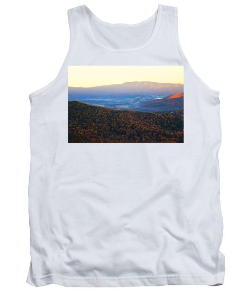 Autumn Mountains  Tank Top