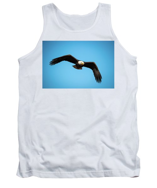 Bald Eagle In Flight  Tank Top