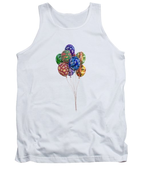 Balloons Perfect Touch Tank Top