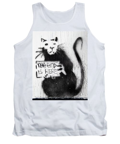 Banksy Rat The End Is Here Tank Top