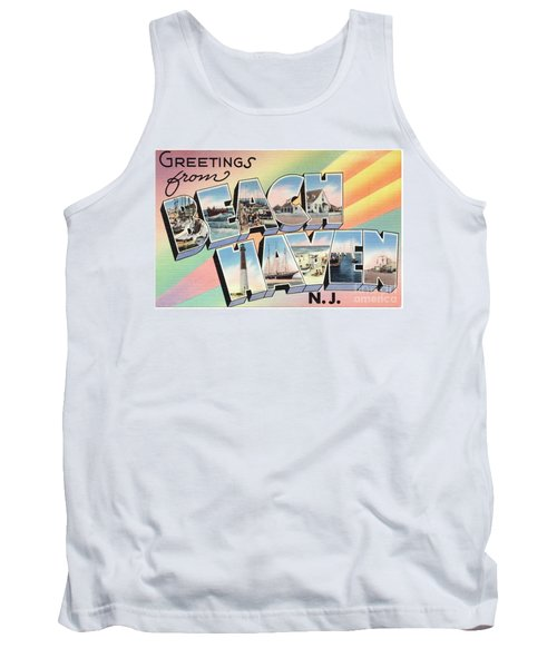 Beach Haven Greetings Tank Top