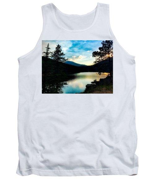 Tank Top featuring the photograph Beaver Brook Lake by Dan Miller