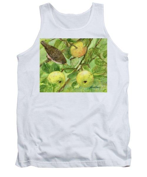 Bird And Golden Apples Tank Top