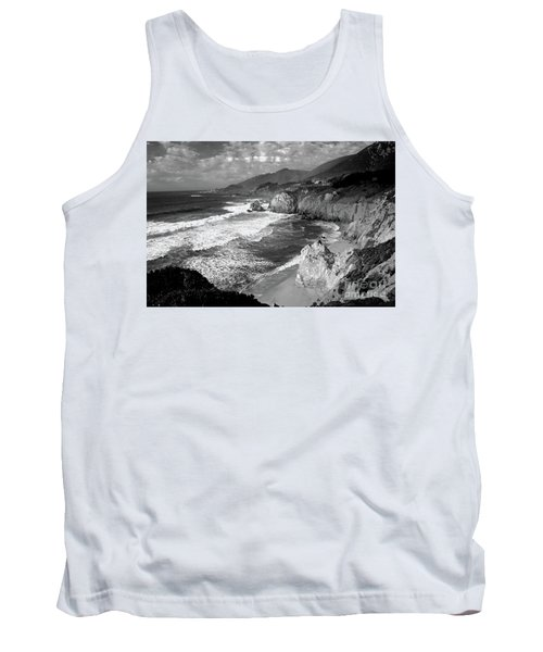 Black And White Big Sur Tank Top