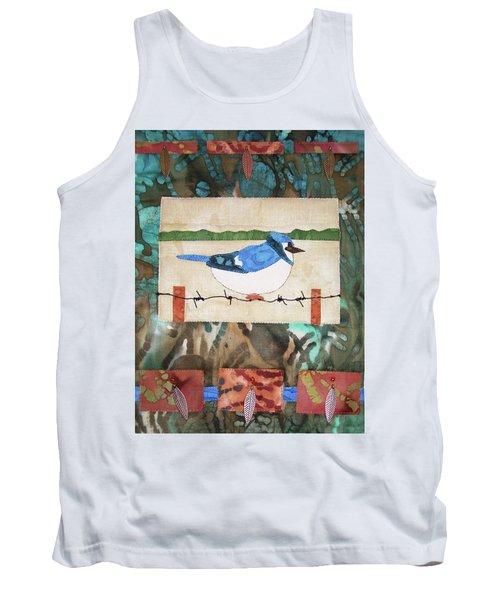 Blue Bird Tank Top