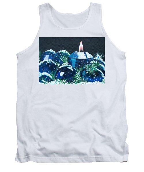 Blue Christmas  Tank Top