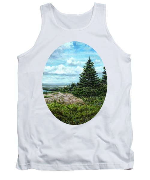 Blueberries On Cadillac Mountain Tank Top