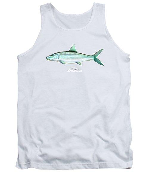 Bonefish Tank Top