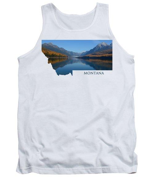 Bowman Lake- Montana Tank Top