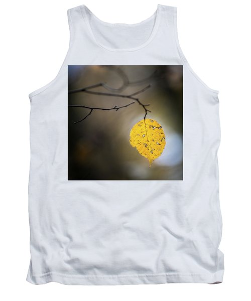 Bright Fall Leaf 7 Tank Top