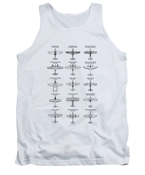 British Fighters Of Ww2 Tank Top